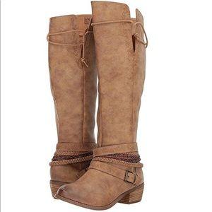 🆕 Jurupa Beige Tall Shaft Boots